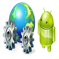 Android with web service